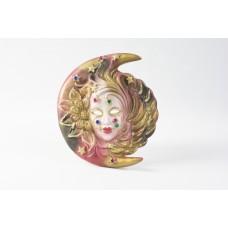 Maschera veneziana con luna