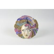 Maschera veneziana decorata a mano