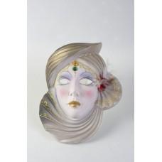 Maschera veneziana con fiocco